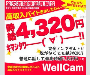 WellCam女性会員募集(停止)